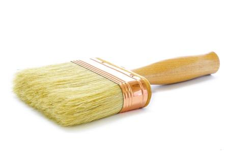 New Wooden Paintbrush  photo