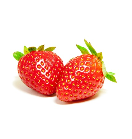 Two Strawberry Fruits photo