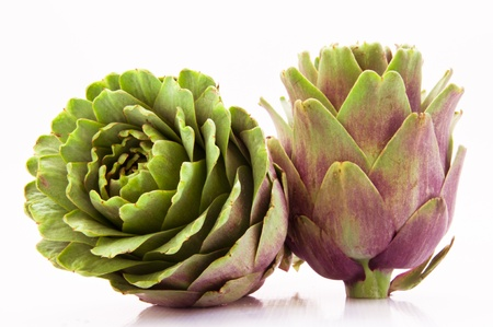 Two Artichoke Fruits photo