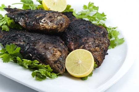 Grilled Tilapia Stock Photo - 14606408