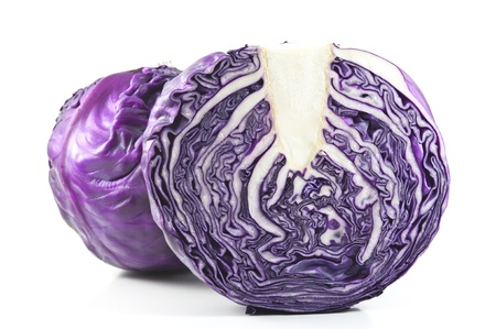 red cabbage: Fresh Red Cabbage  Stock Photo