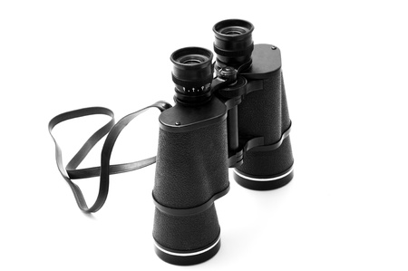 Black Binoculars Stock Photo - 14590040