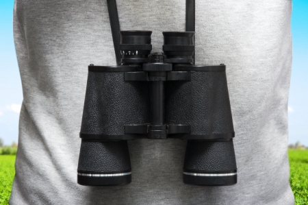 Explorer Binoculars Stock Photo - 14590053