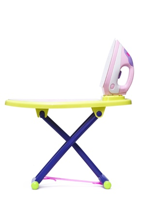 side table: Iron Toy With Table