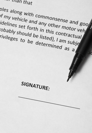 Business Signature Stock Photo - 14517097