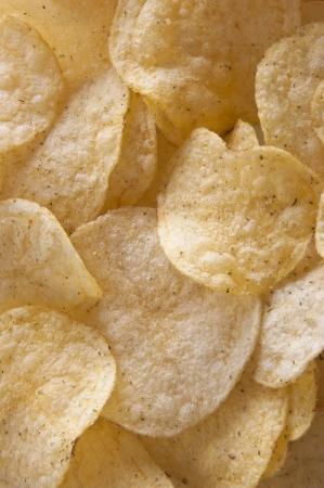 Potato Chips Pattern Stock Photo - 14489654