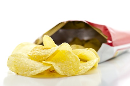 Potato Chips Bag Stock Photo - 14489653