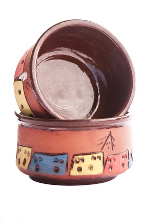 Decorated Clay Pots photo