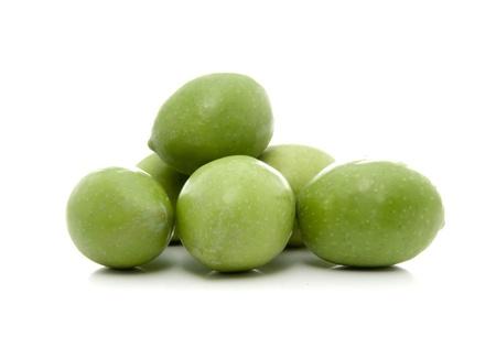 Green Olives 版權商用圖片 - 14908174