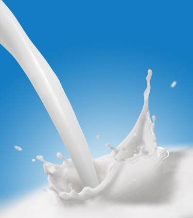 glass of milk: Splash of Milk