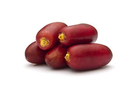 frutas secas: Fechas rojas Foto de archivo