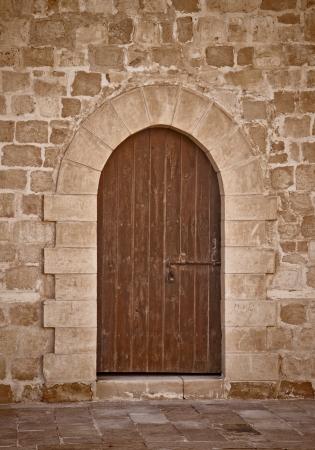 Ancient Door Background