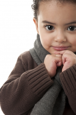 winter break: Handsome Boy Stock Photo