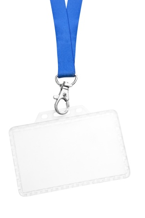Blank ID Badge Stock Photo - 14908154