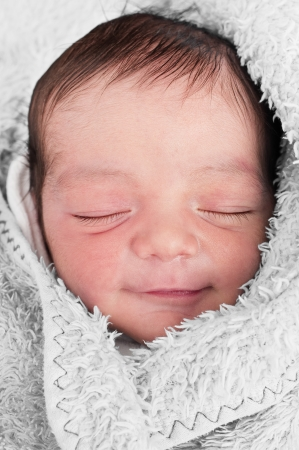 baby nursery: Sleeping Baby Smile