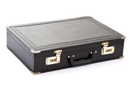 leather briefcase: Black Briefcase