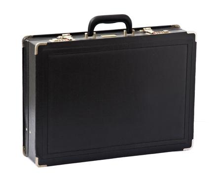 black briefcase: Malet�n