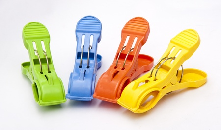 clothes pegs: Colorful Clothes Pegs