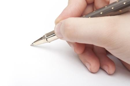 Hand Writing photo
