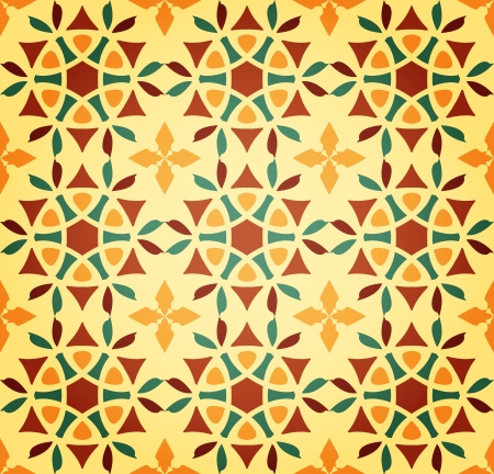 Background of Floral Islamic Seamless Pattern Vector