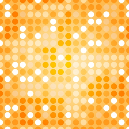Background of Techno Dots Seamless Pattern Stock Vector - 16213841