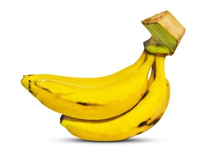 Fresh Banana Isolated on White Background Stock Photo - 17016930