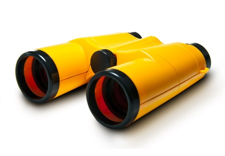 Kids Binoculars Isolated on White Background Stock Photo - 17016918