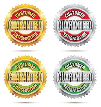 Seal of Customer Satisfaction Guaranteed Stock Vector - 17084305