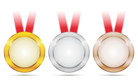 Seal of Achievement Medals Vector