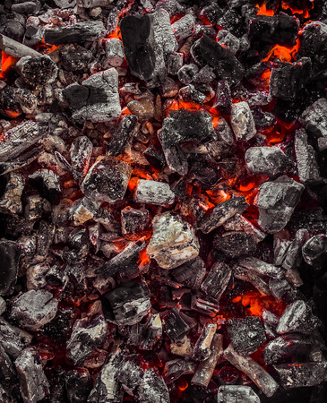 coal fire: Red Warm Black Coal Background Texture