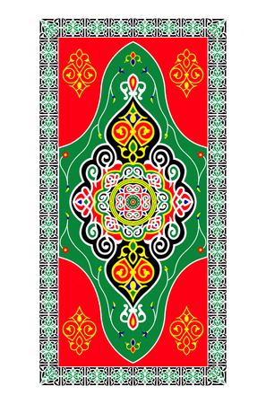 Traditional Vector Islamic Colorful Festive Ornaments 일러스트