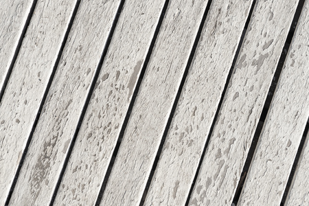 A White Peeled Paint Texture of Wood Lines Background 版權商用圖片