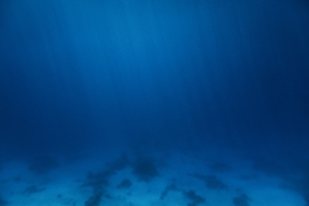Abstract Deep Blue Seabed Underwater Background