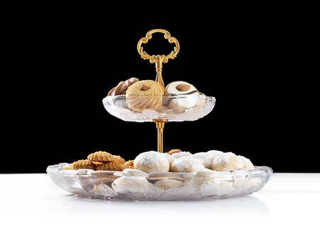 Happy Eid ElFitr Sweet Cookies, Greeting Card