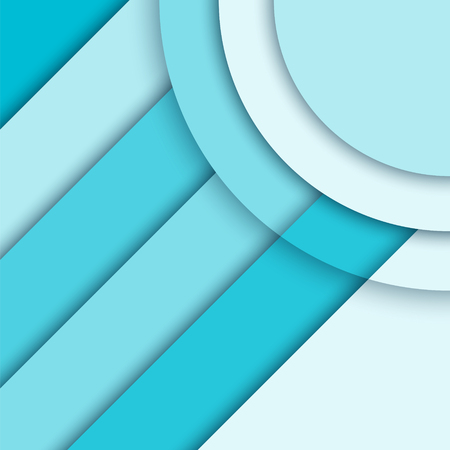 material: Material design background. Modern colorful vector background, trendy geometrical template. Abstract illustration. Blue brochure, report cover. Illustration