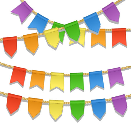 special events: Colorful bunting decoration for party, festival, celebration, special events.