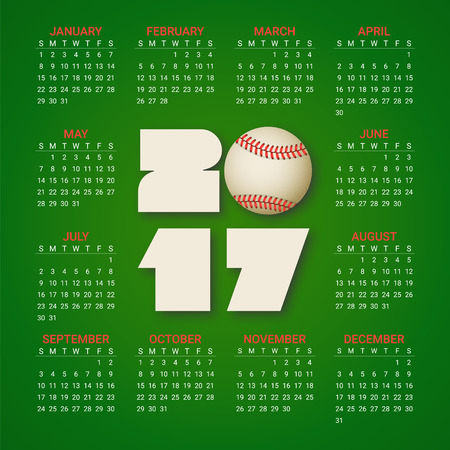 Calendar For 2018 Year On Bright Colorful Hexagonal Background