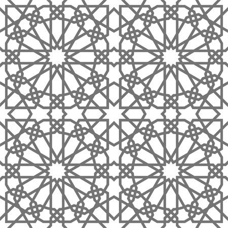 tillable: Islamic vector geometric ornaments based on traditional Arabic art. Oriental seamless pattern.