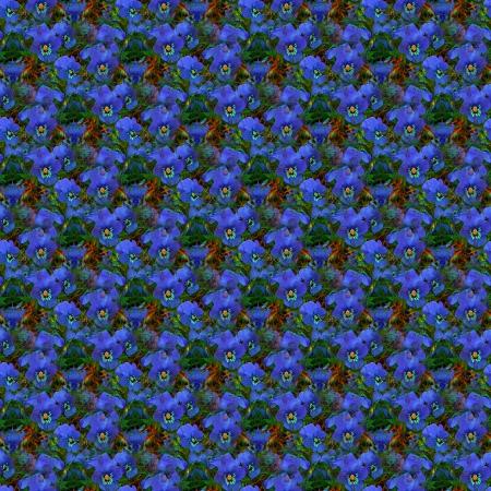 Blaue Stiefmütterchen Tileable Hintergrund Lizenzfreie Bilder