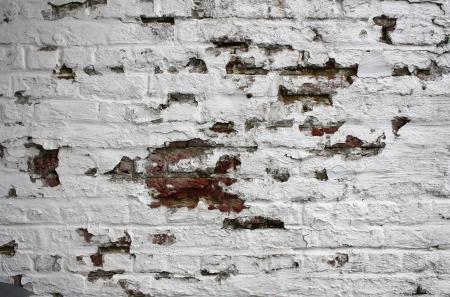 Erodierten bemalten Mauer