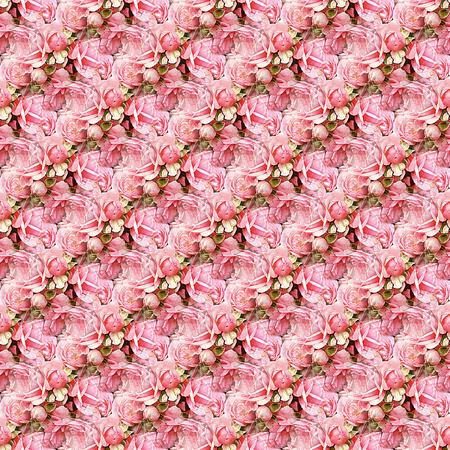 Rose-Blumenstrauß Tile Lizenzfreie Bilder