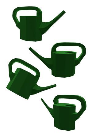 Bewässerungsdosen Standard-Bild