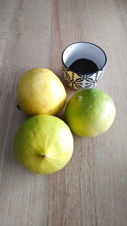 Bergamot fruit and Earl Grey tea blend Imagens