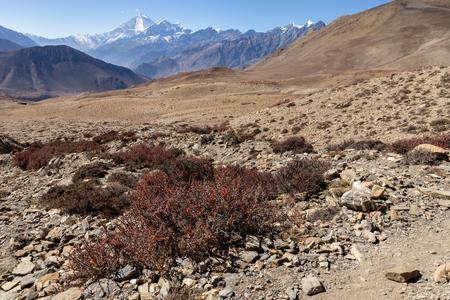 Himalaya mountains, Nepal. Stock fotó