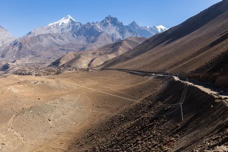 tibetian: beautiful landscape, Himalayas, Nepal