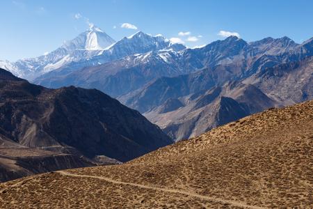 Mount Dhaulagiri and Tukuche Peak