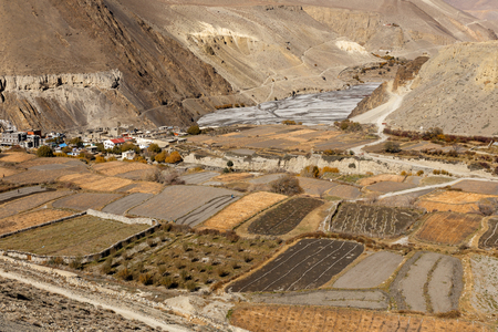 Near the village of Cagbeni, Lower Mustang Nepal