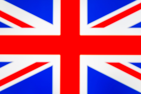 abstract blurred background color of the national flag of the United Kingdom, Patriotic background