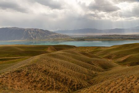 Toktogul Reservoir, reservoir in the territory of the Toktogul district of the Jalal-Abad region of Kyrgyzstan, the largest reservoirs in Central Asia