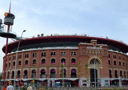 arenas: Barcelona, Spain - September 2nd, 2011: The shopping center Las Arenas in Barcelona, Spain Editorial